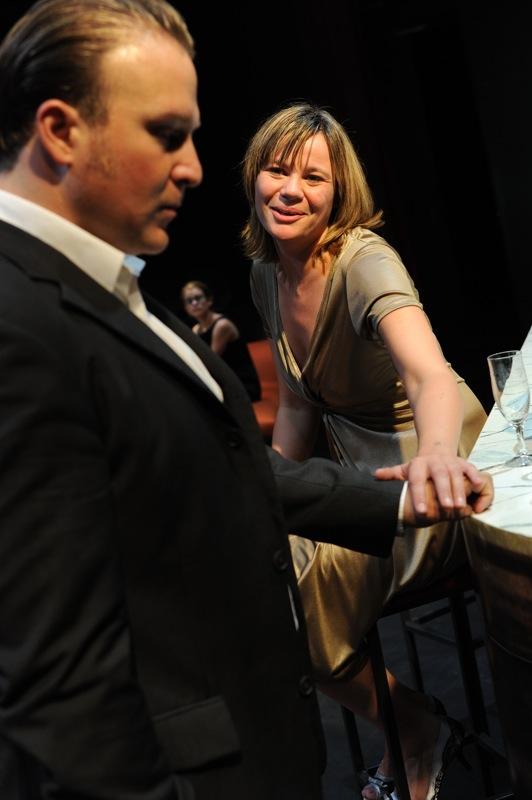v.l.: Antonio Lallo, Johanna Paschinger, Aglaja Stadelmann