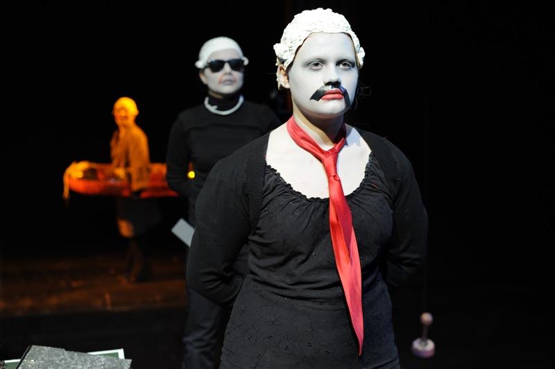 v.l.: Anja Pawlicki, Lisa Hillmann, Julia-Isabella Merath