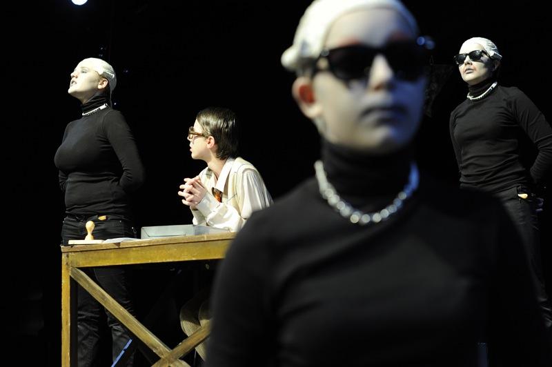 v.l.: Carina Ludwig, Marc Elsner, Lena König, Lisa Hillmann
