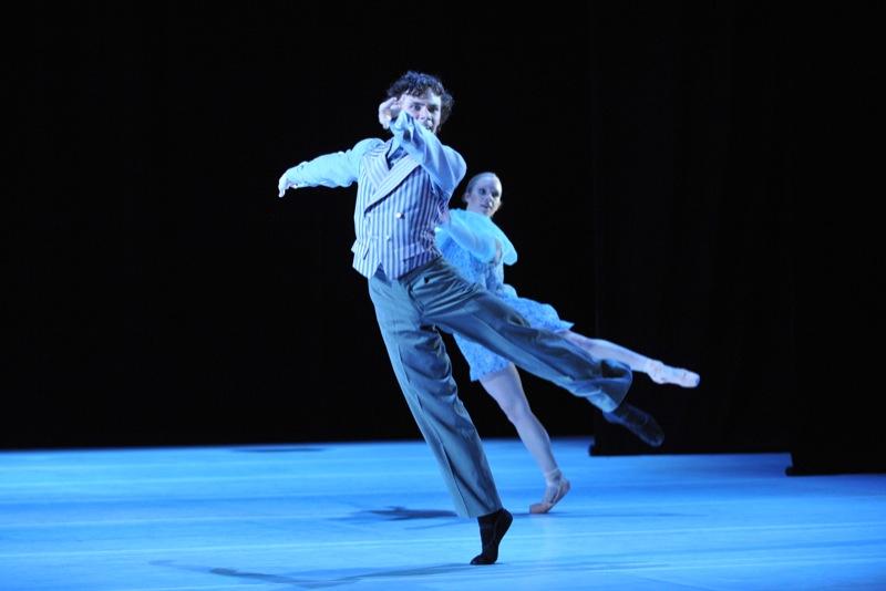 v.l.:James Muller, Sophie Balet