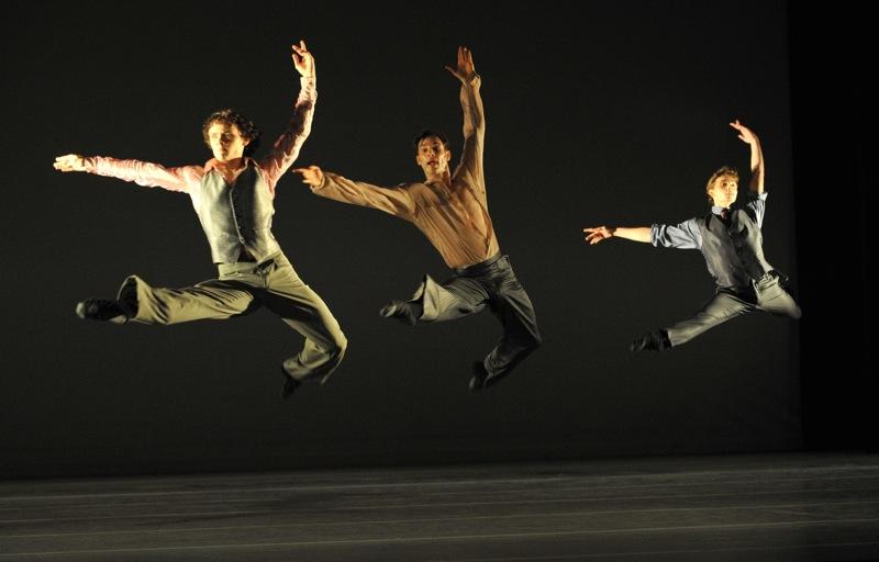 v.l.:James Muller, Dwayne Holliday, Damien Nazabal