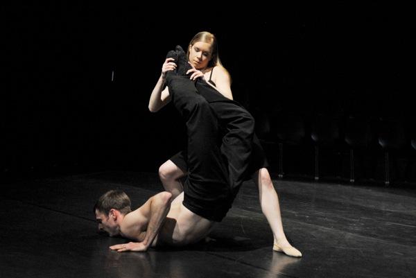 v.l.: Dwayne Holliday, Sophie Balet