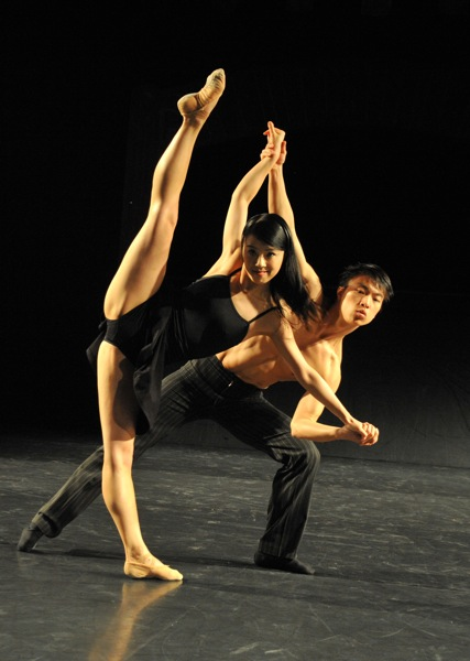 v.l.: Yuka Kawazu, Zhiyong Zhang