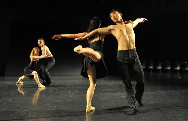 v.l.: Gisela Montero i Garcia, James Muller, Yuka Kawazu, Zhiyong Zhang