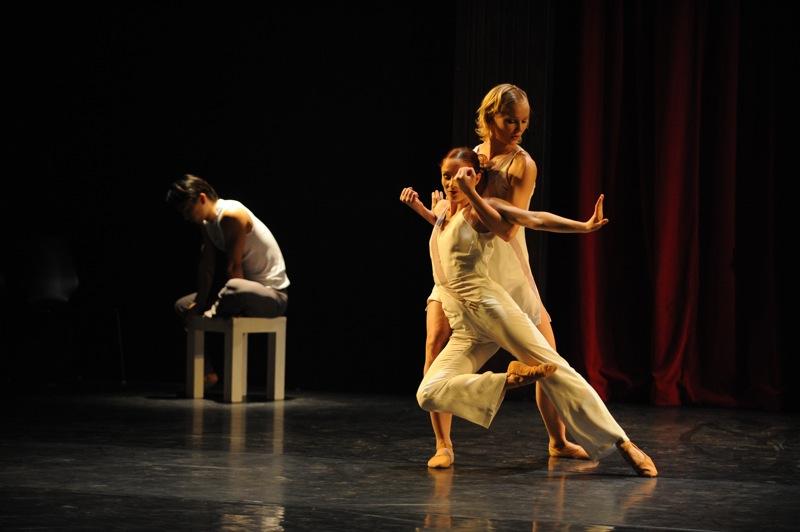 v.l.:Zhiyong Zhang, Juliane Nawo, Simone Damberg Würtz