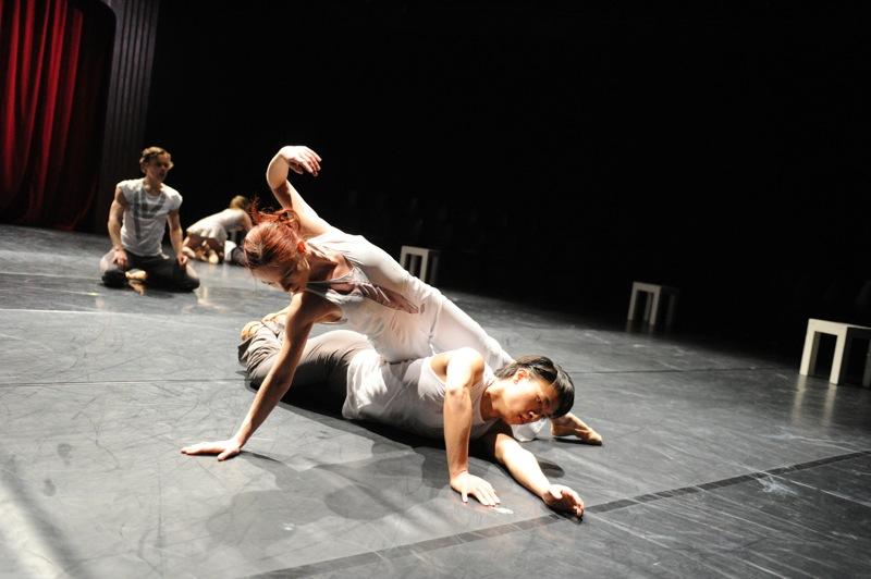 v.l.:James Muller, Sophie Balet, Juliane Nawo, Zhiyong Zhang