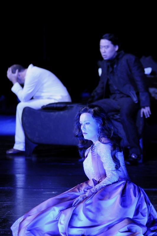 v.l.: Jorge Perdigon a. G., Oxana Arkaeva, Kwang-Keun Lee