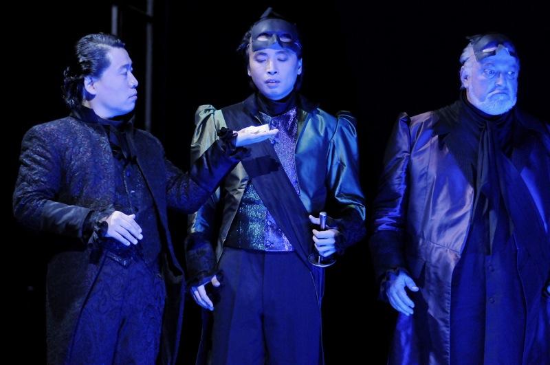 v.l.: Kwang-Keun Lee, Jie Mei, Joachim Pieczyk,