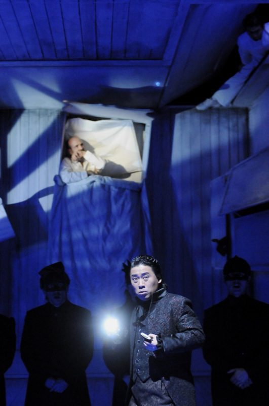 v.l.: Kwang-Keun Lee, Jorge Perdigón a. G., Chor