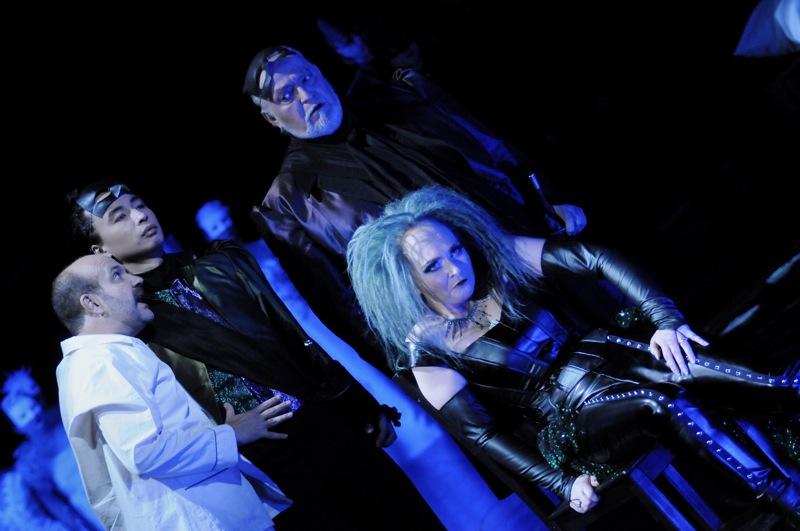 v.l.: Jorge Perdigón a. G., Jie Mei, Joachim Pieczyk, Helena Zubanovich