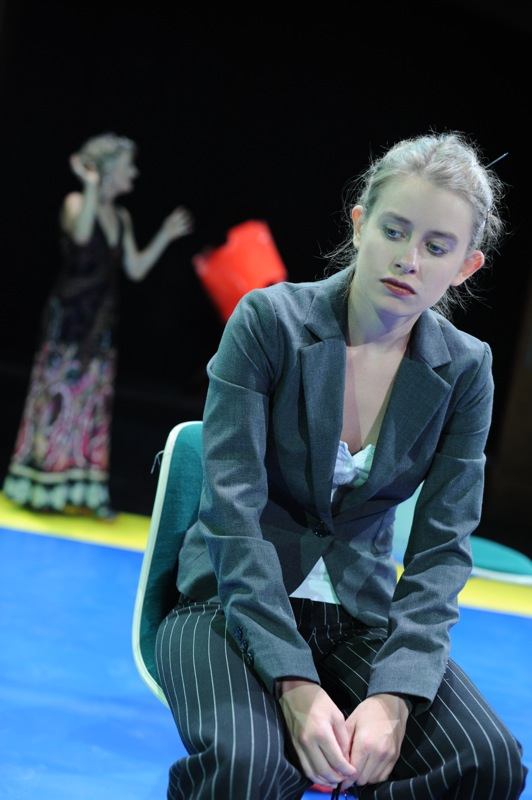 v.l.: Christel Mayr, Johanna Paschinger